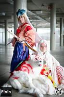 Okami: Waka Amaterasu and Shiranui by Risachantag