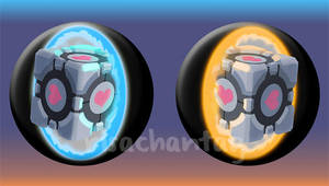 Portal pin set by Risachantag