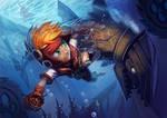 Freedom Fall: The Shark Boss by Risachantag