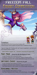 Freedom Fall Fanart Competition by Risachantag