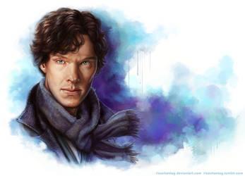 Sherlock: A Study in Blue by Risachantag