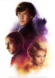 Sherlock: Three by Risachantag