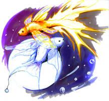 Original: Sunfish Moonfish by Risachantag