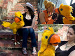 Chocobo Puppet by Risachantag
