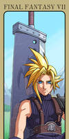 FFVII: Cloud Strife by Risachantag