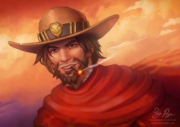 Overwatch: Mccree by Risachantag