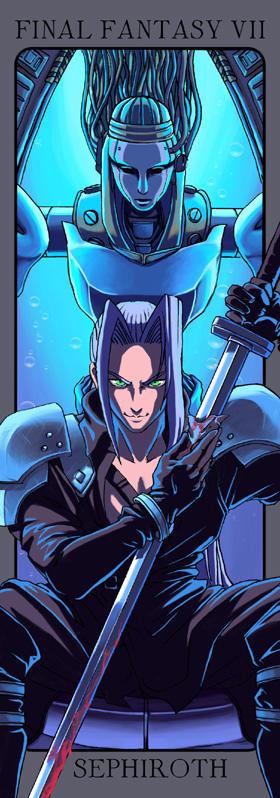 FFVII: Sephiroth by Risachantag