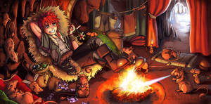 Original: Fire Rat's Den by Risachantag