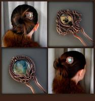 Copper hairpins by KL-WireDream