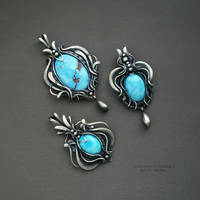 Kazakh turquoise by KL-WireDream