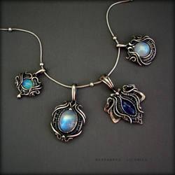 mini pendants by KL-WireDream