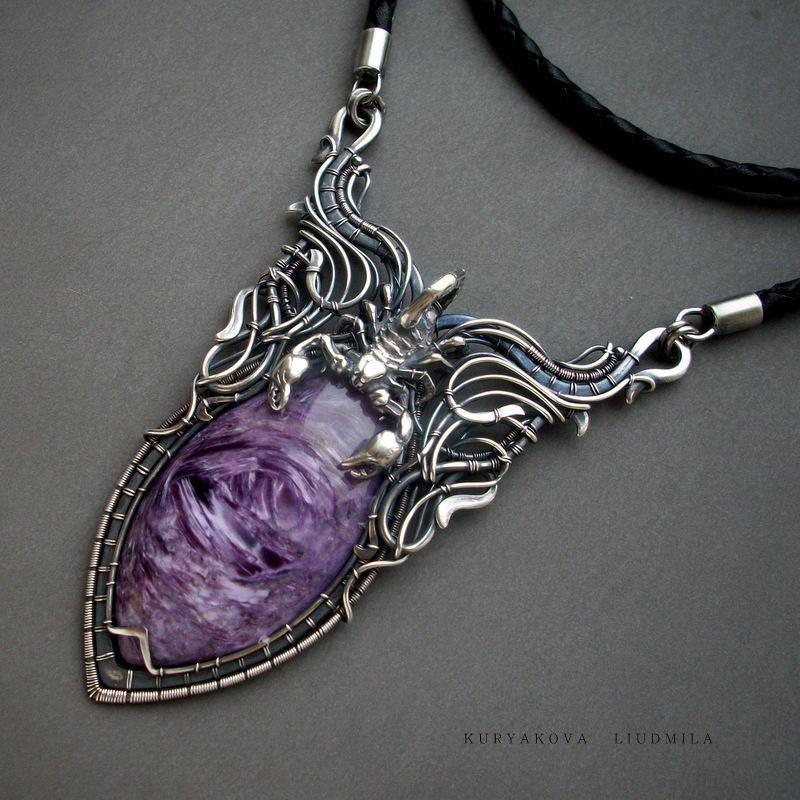 Purple scorpion by KL-WireDream