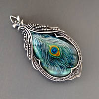 Peacock feather by KL-WireDream