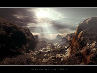 Climbing EnTath by angelic-jean