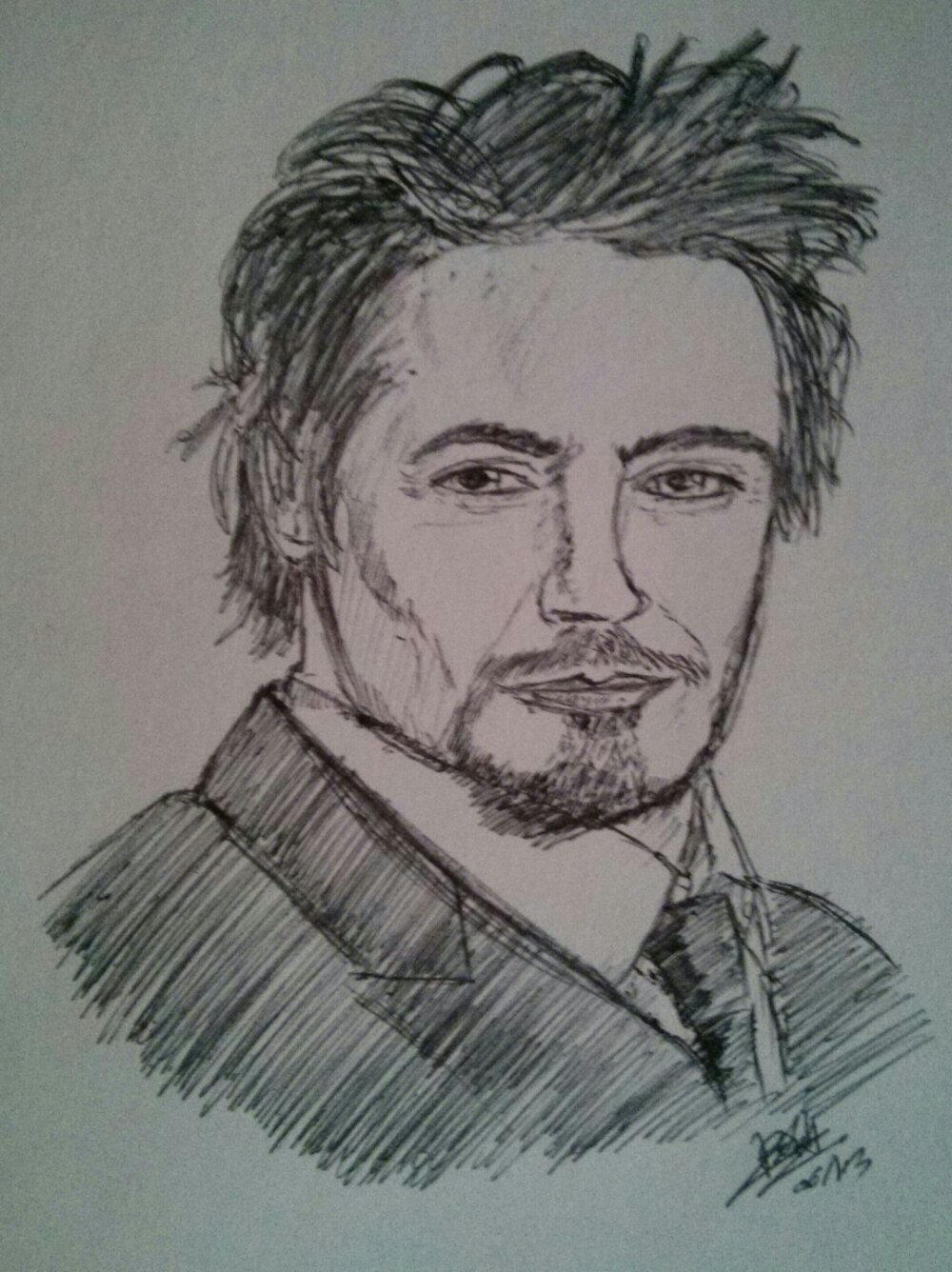 Robert Downey Jr by LoiseFenollCreation