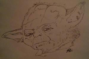 Yoda by LoiseFenollCreation