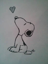 Snoopy by LoiseFenollCreation