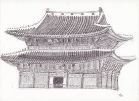 Changdeokgung by LoiseFenollCreation