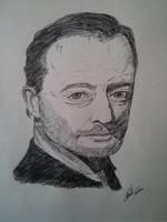Jean Reno by LoiseFenollCreation