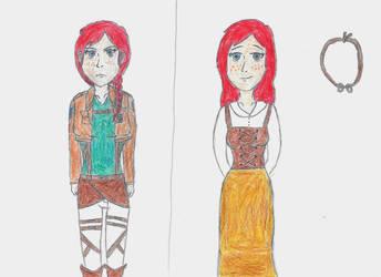 SnK/AoT OC: Kelsey Butler by WildKrattsLover144