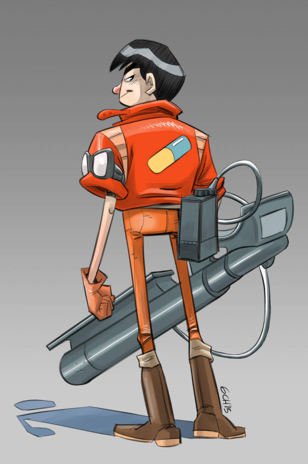 Kaneda! by Monkey-Cosio