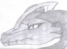 Dragon Head by Icy-Marth