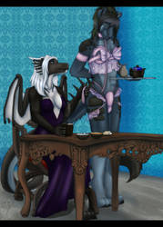 Mistress and Servant by Icy-Marth