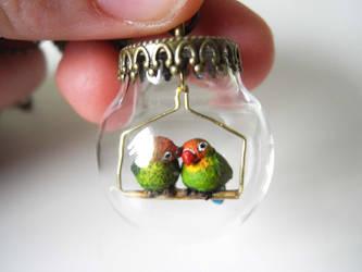Lovebirds by asa-baijan