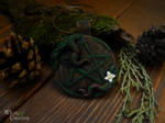 Wiccan Pentacle pendant by Ilvirin