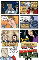 Summer Fear Part III Promotional Comic Strip by UberDre