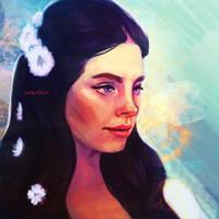 Lana del Rey by evehartman