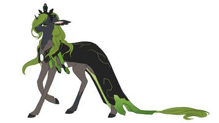 Wildling Prompt - Zygarde by EternaNyx-Art