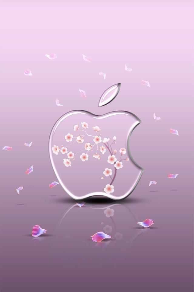 iphone Wallpaper - Sakura by LaggyDogg