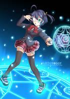 Takanashi Rikka by YOGGYart