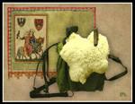 My medieval saddle by severeene