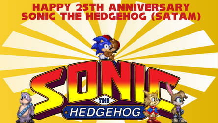 Sonic Satam's 25th Anniversary picture by DaveFelisFan24