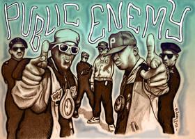 Revolutionary Minds : Public Enemy by Insanemoe