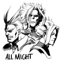 All Might by Deus-Nocte