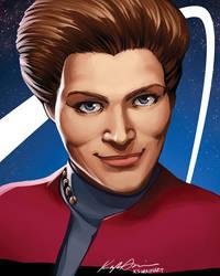 Captain Janeway by Deus-Nocte