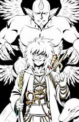 Thief King Bakura - Commission by Deus-Nocte