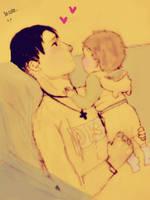 ~Levi and Eren ~ by MIHETIGRVO