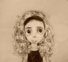 ~Girl with curls~ by MIHETIGRVO