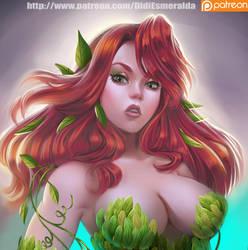 Fanart Poison Ivy by Didi-Esmeralda