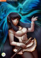 Ikaruga - Senran Kagura video game series. by Didi-Esmeralda