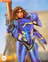 Pharah - Overwatch by Didi-Esmeralda