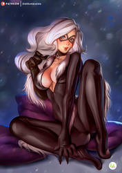 Black Cat - Felicia Hardy|Spiderman Marvel Fanart by Didi-Esmeralda