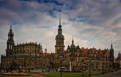 Dresden - Hofkirche by Drezdany
