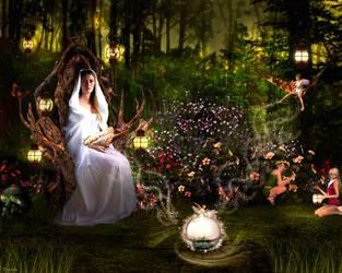 Fairies magic by Drezdany