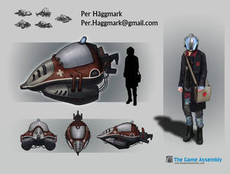 Vehicle Concept by PerperRulez