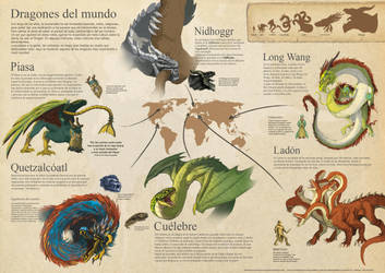 Dragones del mundo by Willkarma